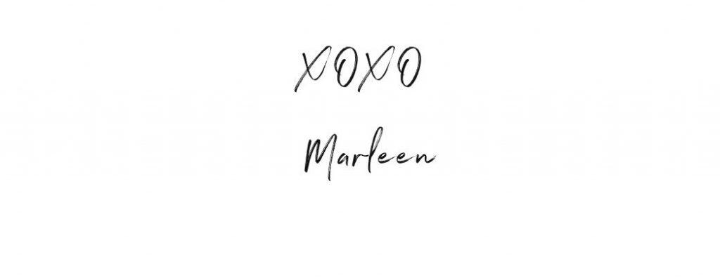 xoxo Marleen